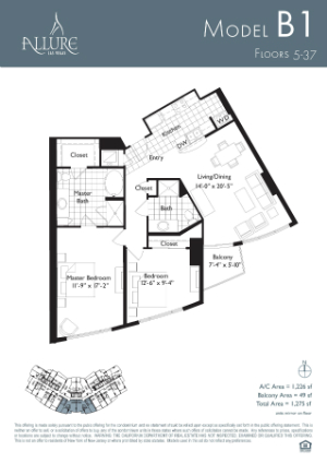 Allure las vegas condos for rent and for sale for Las vegas home floor plans